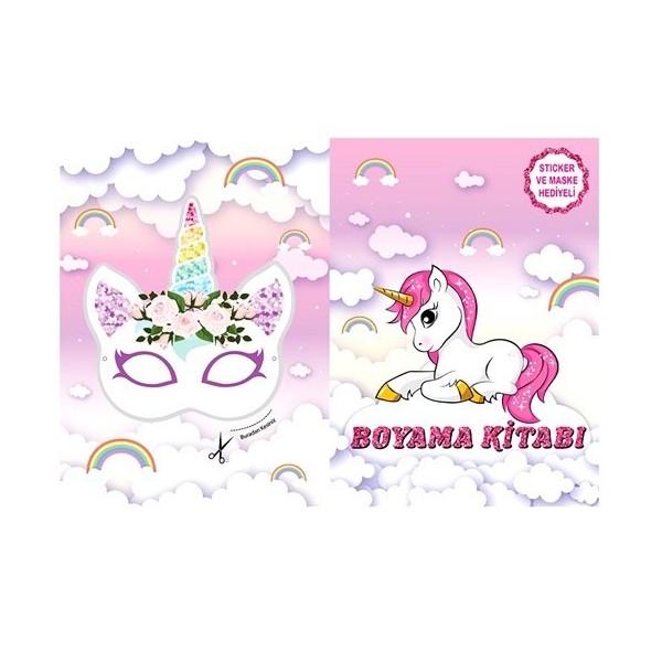 Unicorn Unicorn Boyama Kitabi