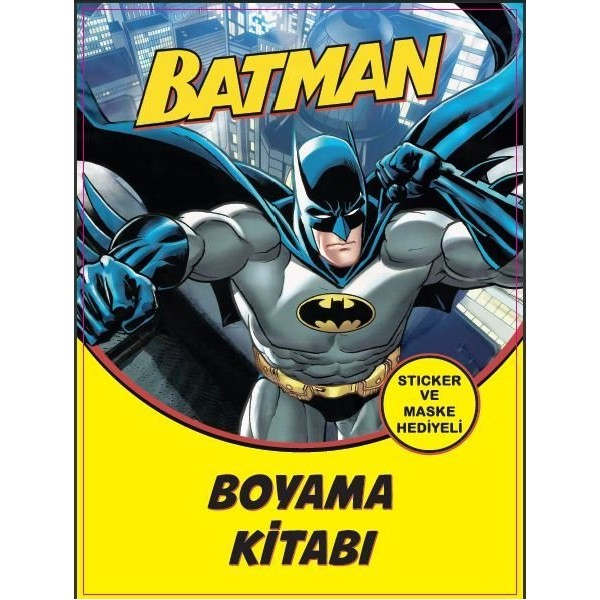 Batman Batman Boyama Kitabi