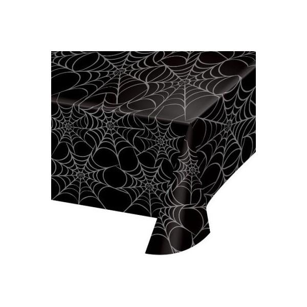 Cadılar Bayramı Temaları örümcek Ağı Desenli Masa örtüsü