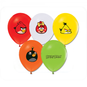 Angry Birds 6lı latex Balon