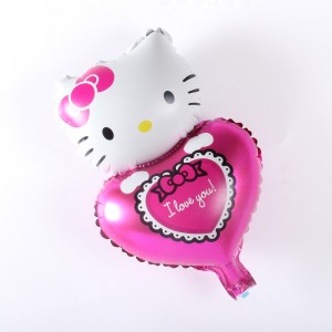 Hello Kitty Kalpli Folyo Balon
