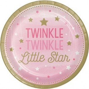 One Little Star Pembe 8 li Tabak