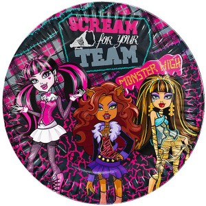 Monster High 8li Partisi Tabakları