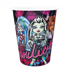 Monster High 8li Parti Bardakları