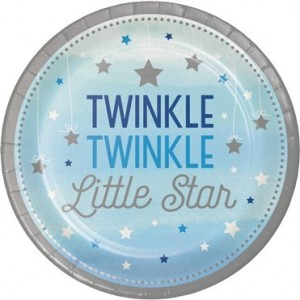 One Little Star Mavi 8 li Tabak