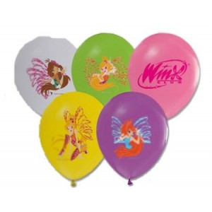 Winx 6lı Latex Balon