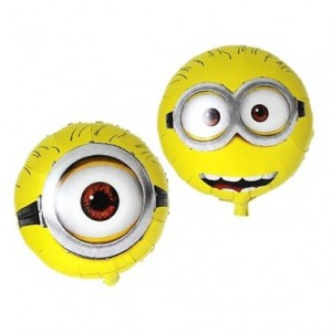 Despicable Me Temalı Folyo Balon