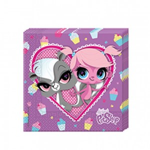 Littlest Pet Shop Minişler Partisi Peçete