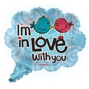 I am in Love with You Folyo Balon 22