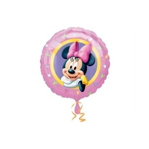 Minnie Pembe Folyo Balon